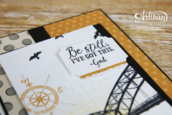 Mix it up, Stampin' Up!, Wherever You Go