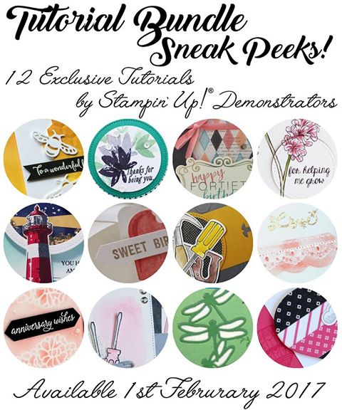 Exclusive Tutorial, Stampin' Up!