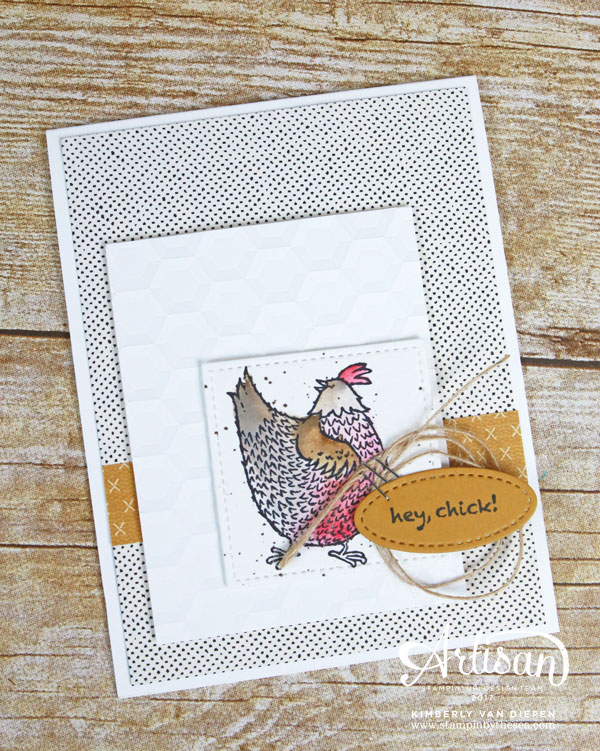 Hey Chick, Sale-a-Bration, Stampin' Up!