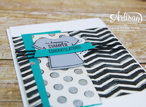 Happy Stamper, Custom Tee stamp set, Stampin' Up!