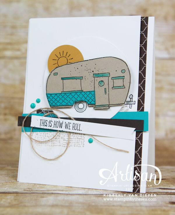 Glamper Greetings, Suite Seasons, Stampin' Up!