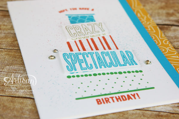 Spectacular Birthday Cake Crazy, Stampin' Up!