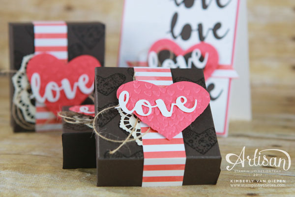 Spread Kindness, Valentines, Stampin' Up!