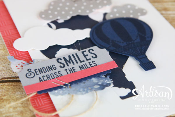 Friends Across the Miles, Lift Me Up stamp set, Stampin' Up!
