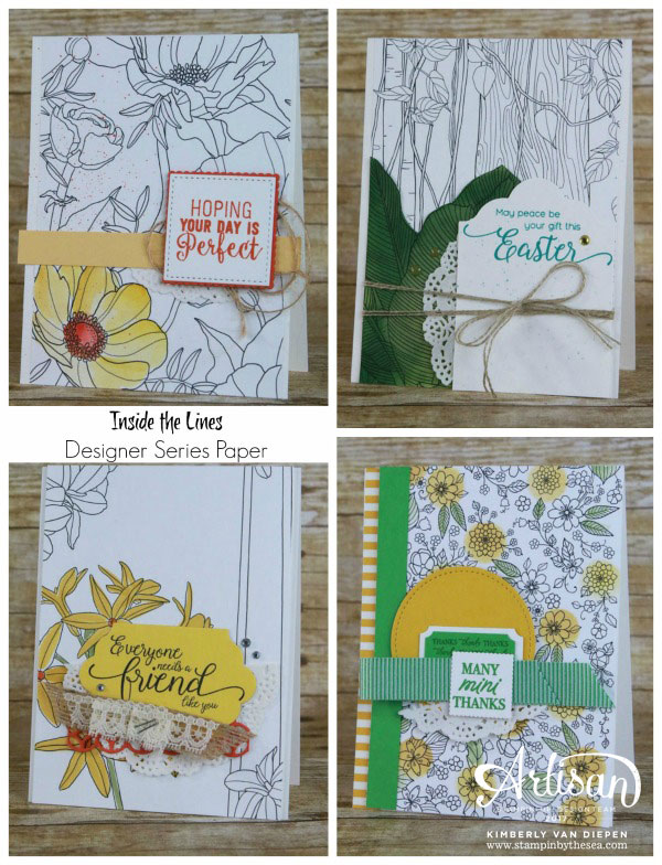 Be Inspired, Inside the Lines, Stampin' Up!