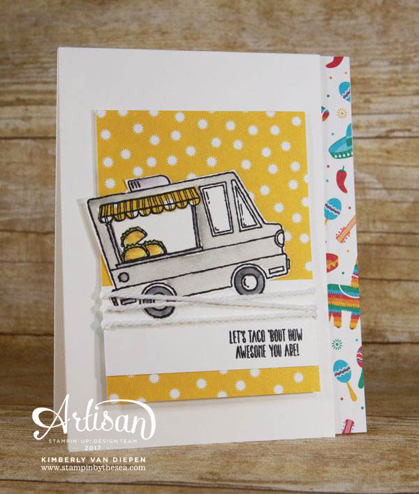 Tasty Trucks, Stampin' Up!, Sale-a-bration
