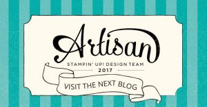 Sharing Sweet Thoughts, Stampin' Up!, Artisan Blog Hop