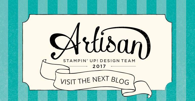 Happy Celebrations, Stampin' Up!, Artisan Blog Hop