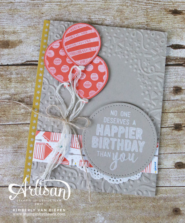 Birthday Bonanza, Creation Station, Stampin' Up!