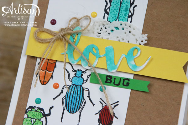 Love Bug, Beetles & Bugs stamp set, Stampin' Up!