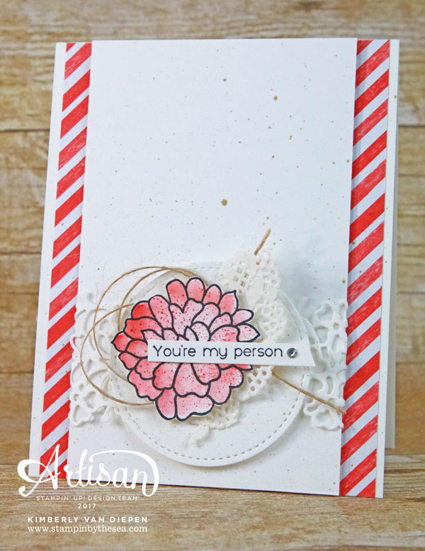 Sending Love, Stampin' Up!, Falling For You stamp set