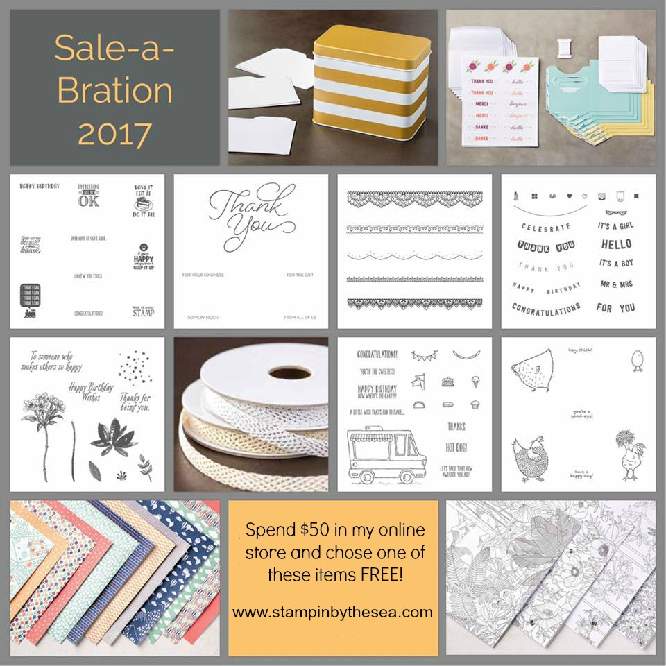 Sale-a-Bration Inspiration, Stampin' Up!, Avant Garden