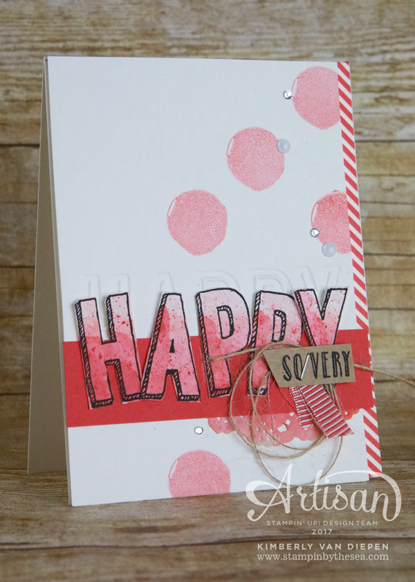 Happy, Celebrate, Stampin' Up!, Happy Celebrations