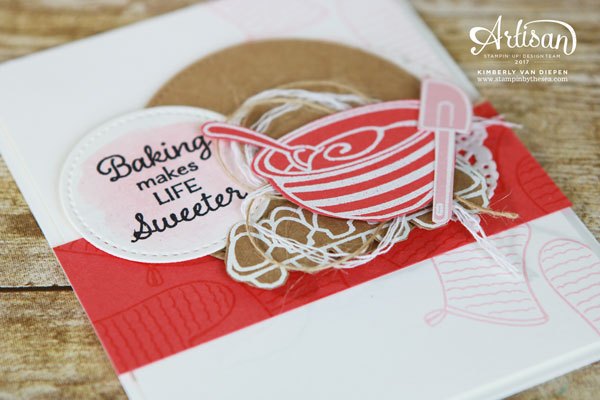 Craftiness in the Kitchen, Perfect Mix, Stampin' Up!