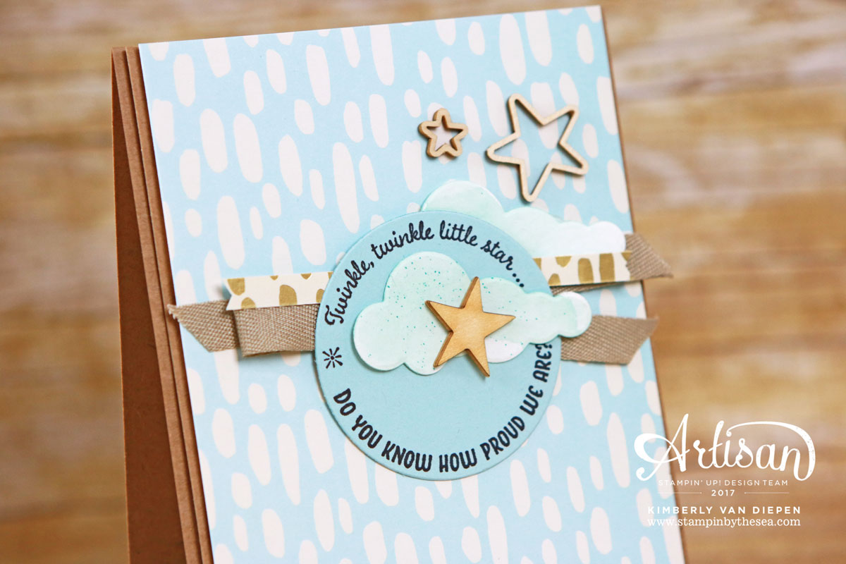 Hearts & Stars Elements, Superstar Stamp Set, Display Stamping, Stampin' Up!