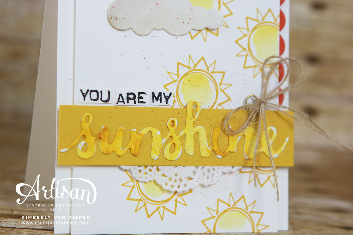 Day at the Beach, Stampin' Up!