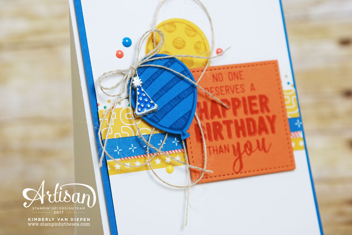 Party Animal, Stampin' Up! Be Inspired Blog Hop