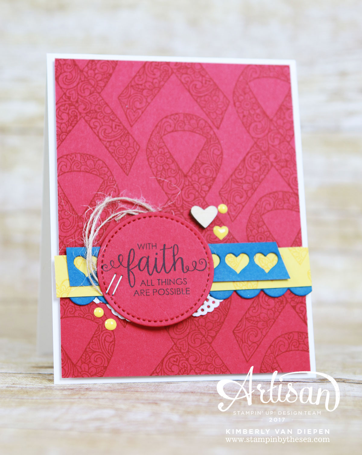 Autism Matters, Stampin' Up!, Autism Awareness