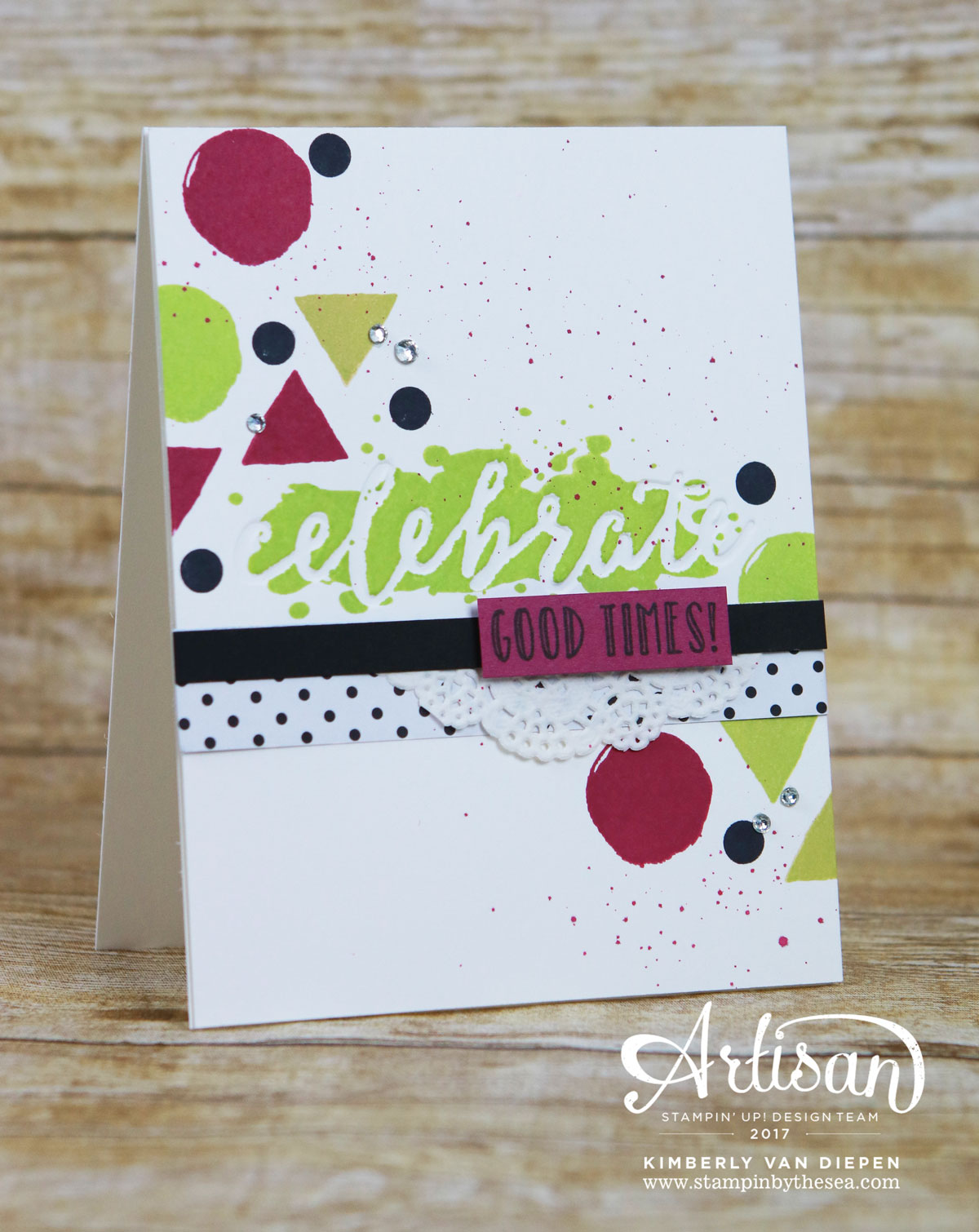 Celebrating, Stampin' Up! Happy Celebrations