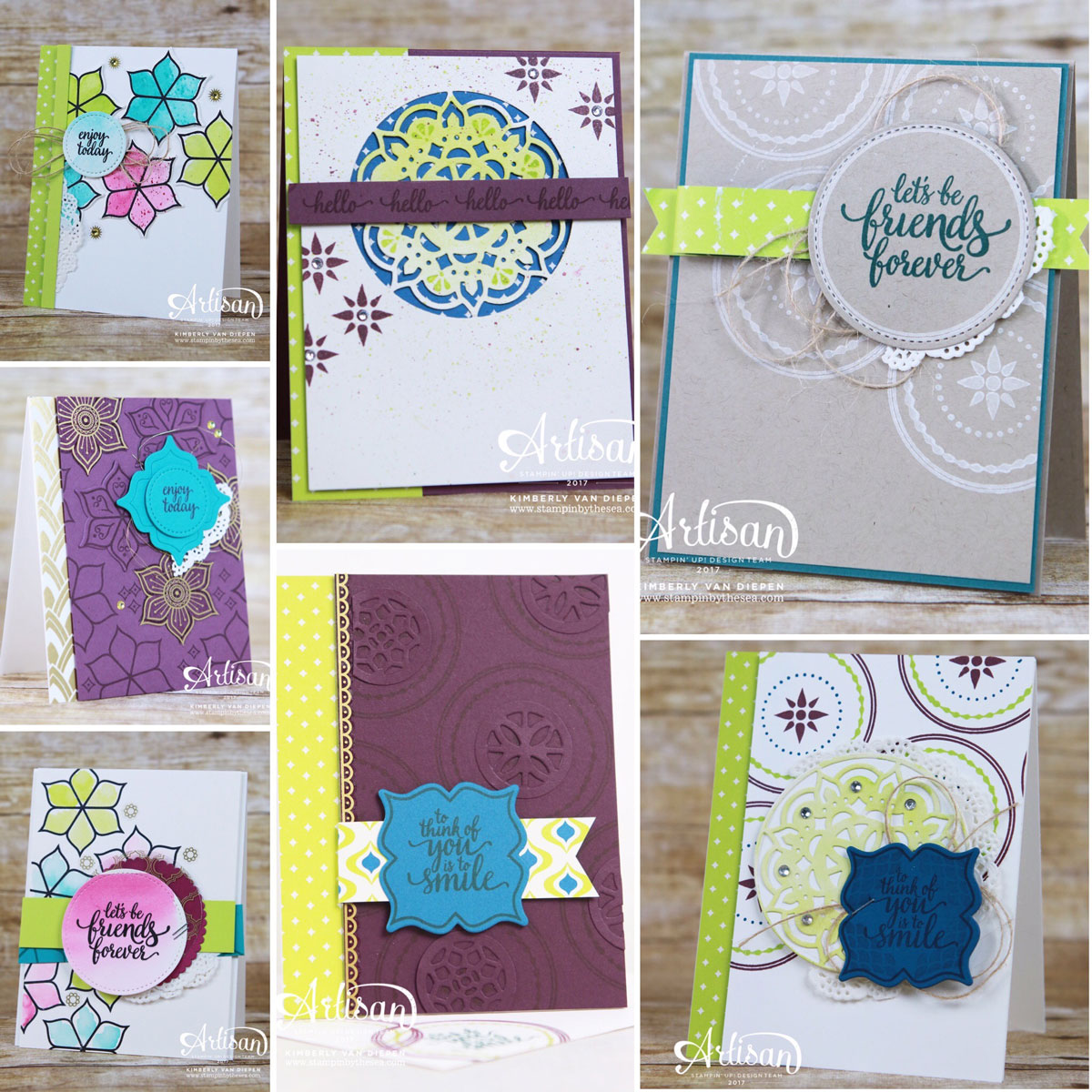 Card Buffet, Eastern Palace, Stampin' Up!