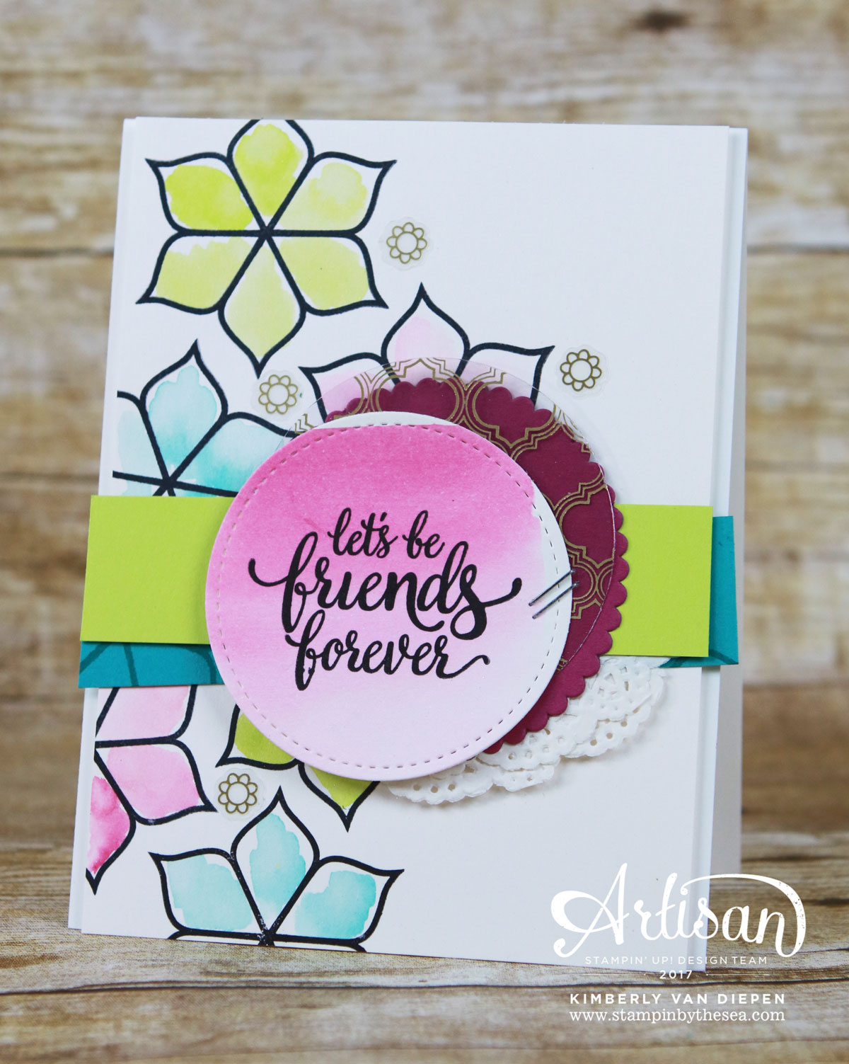 Bold Bright Eastern Palace Suite, Stampin' Up!, Eastern Beauty