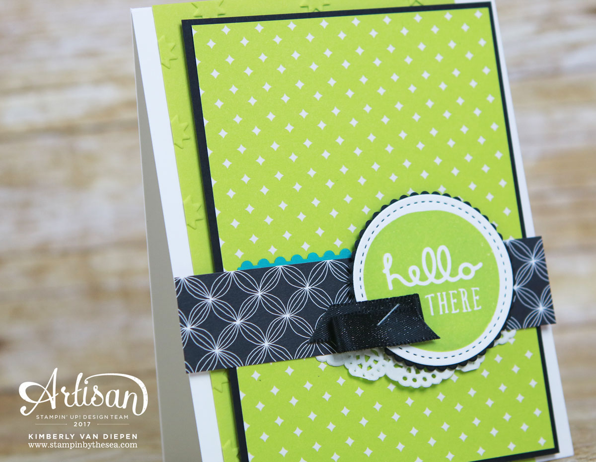 Favorite Color, Pieces & Patterns, Stampin' Up!