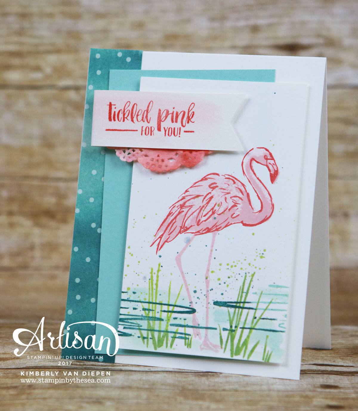 Friends and Flamingos, Fabulous Flamingos, Stampin' Up!