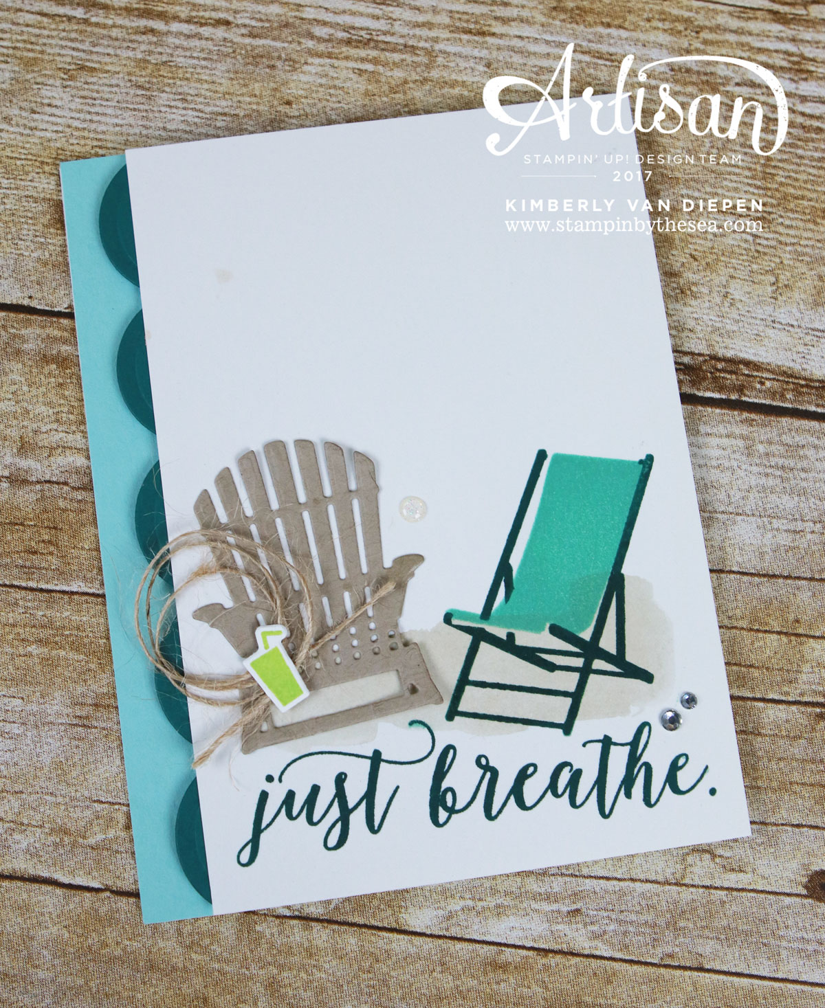 Colorful Seasons, Stampin' Up!, Just Breathe