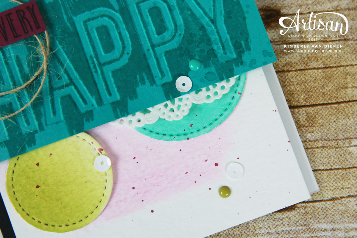 Happy Celebrations, Stampin' Up!, Artisan Hop
