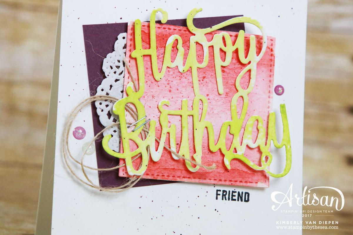 Birthday Celebration, Be Inspired, Stampin' Up!