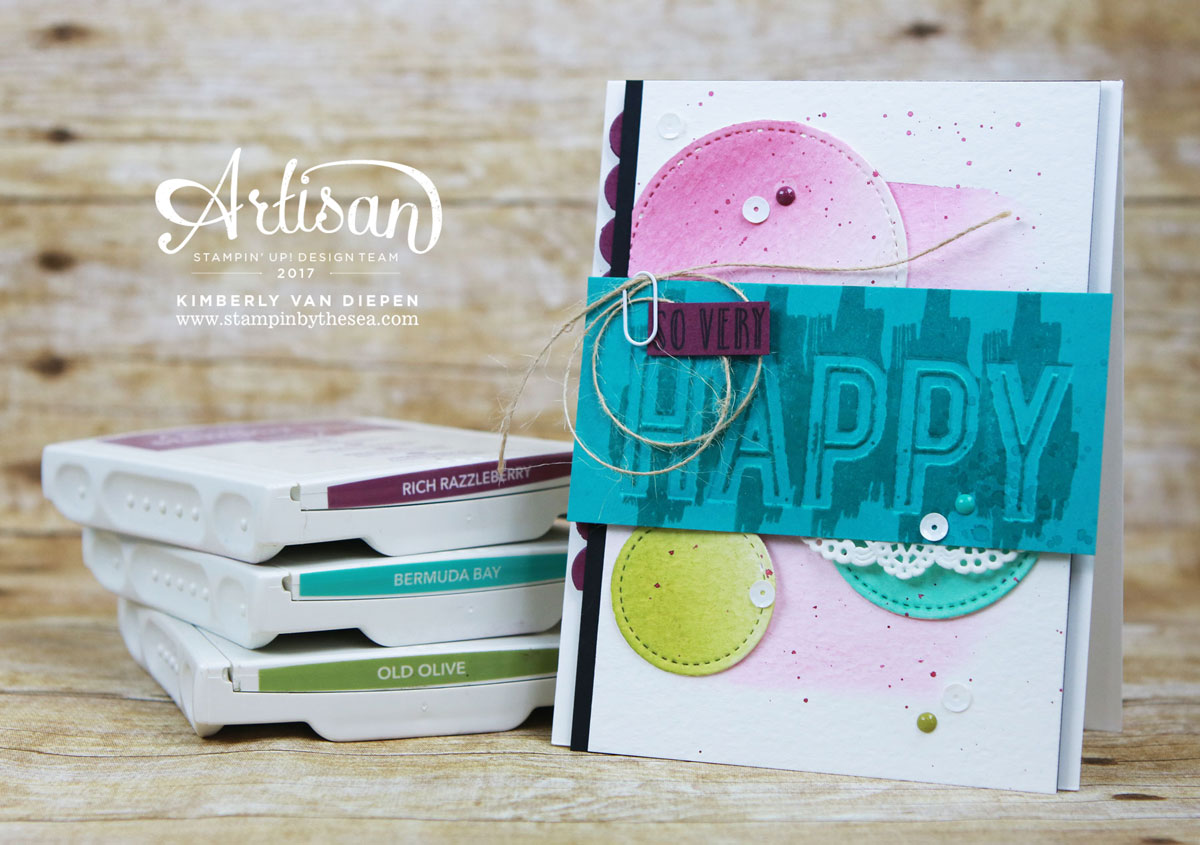 Happy Celebrations, Stampin' Up!, Artisan Hop