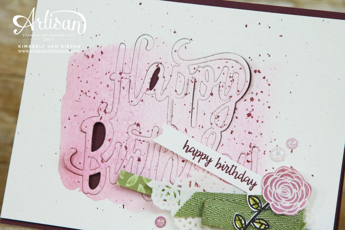Happy Birthday Gorgeous stamp set, Artisan Blog Hop, Stampin' Up!