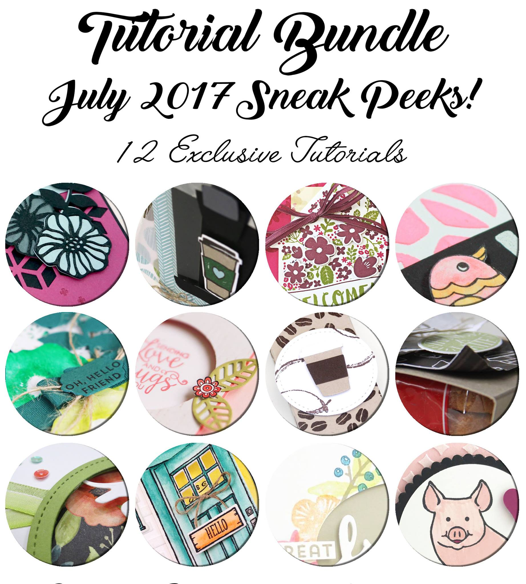 July Tutorial, Stampin' Up!