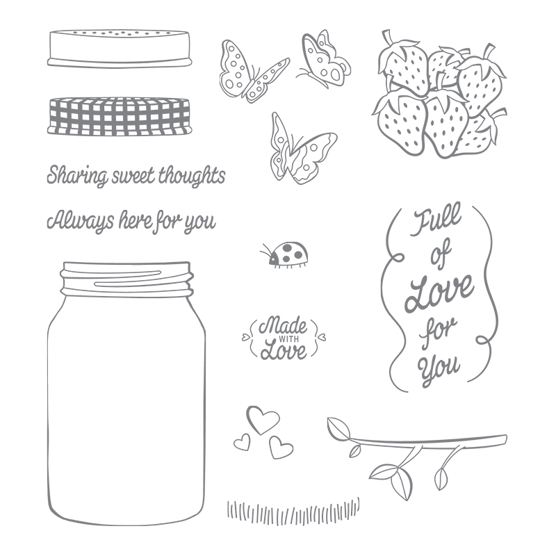 Sharing Sweet Thoughts, Stampin' Up! Artisan Blog Hop