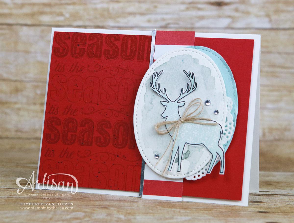 Merry Patterns, Stampin' Up!, Artisan Blog Hop