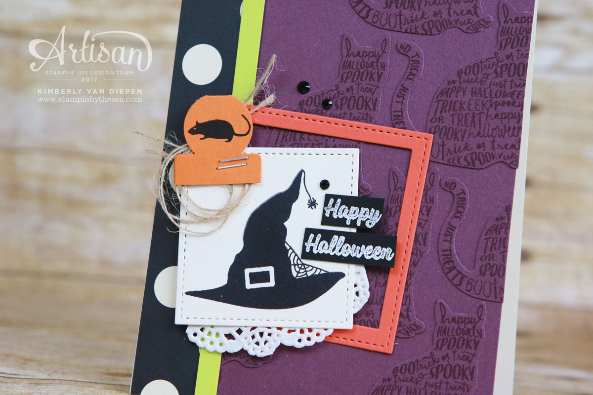 Tutorial Bundle, Spooky Cat, Stampin' Up!