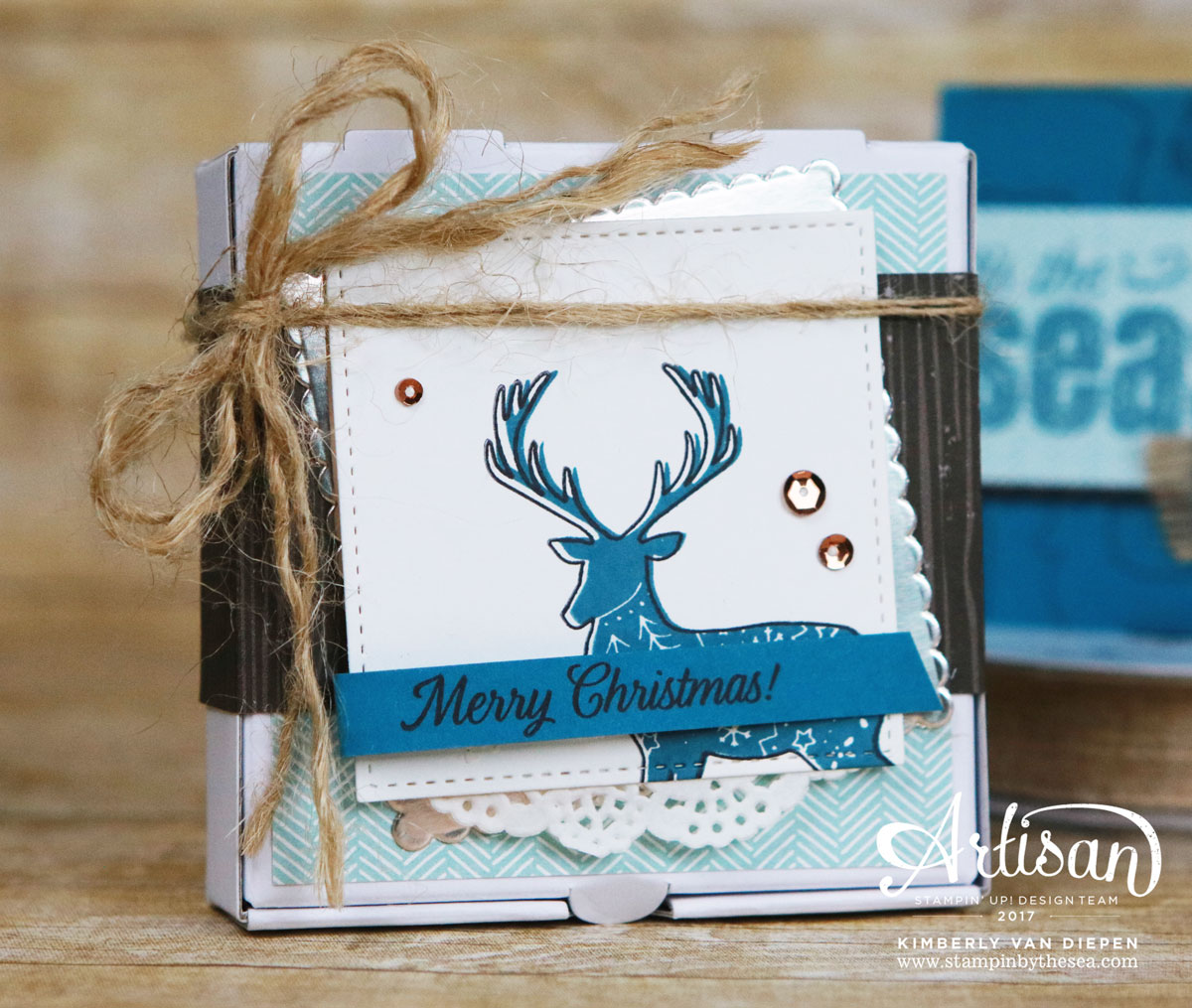 Merry Patterns, Stampin' Up!, Artisan Blog Hop