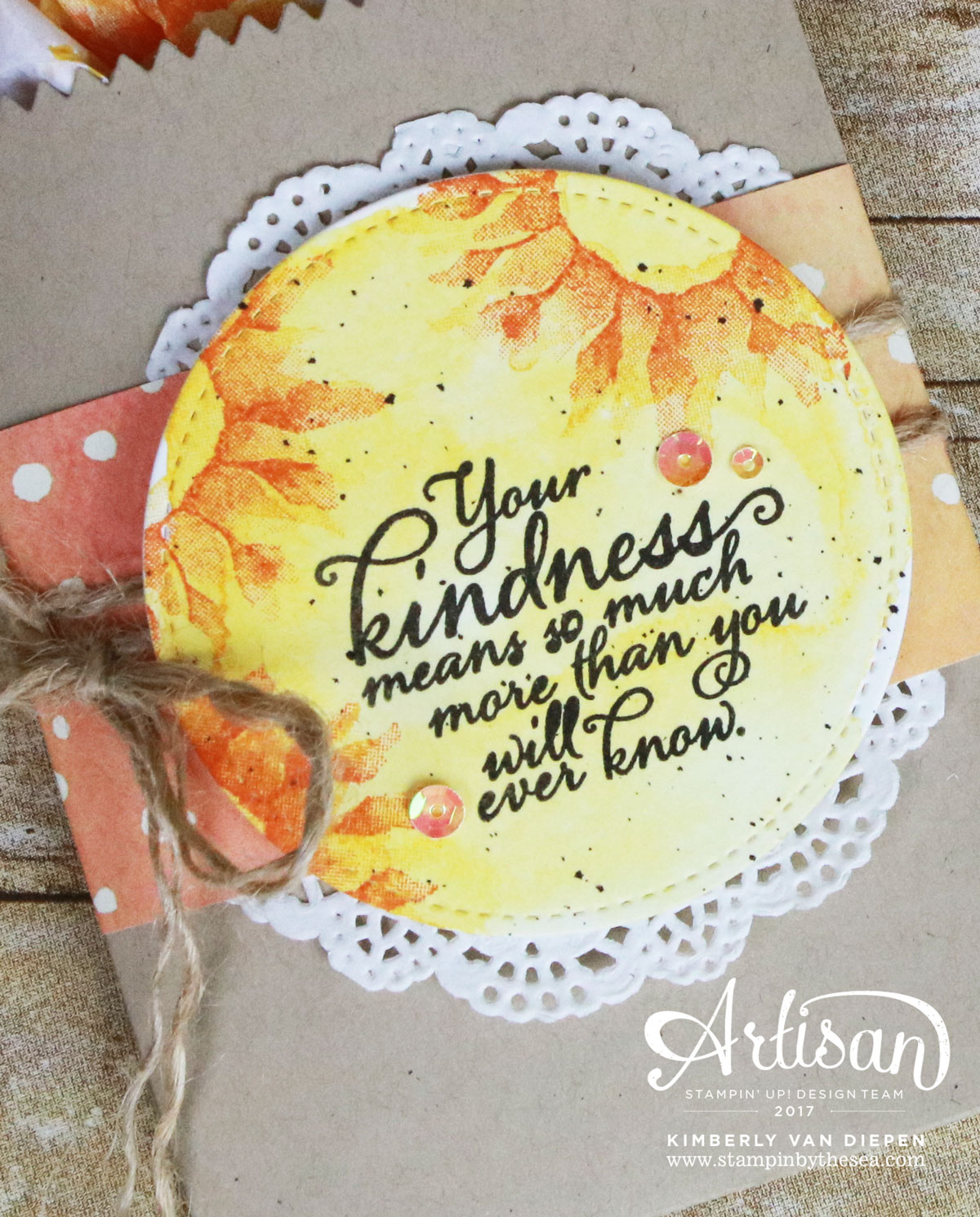 Painted Harvest, Stampin' Up!, Artisan Blog Hop
