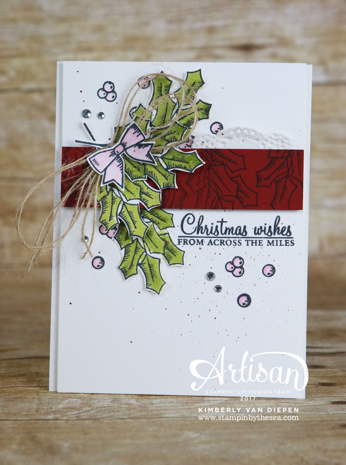 Holly Berry Happiness, Stampin' Blends, Stampin' Up!