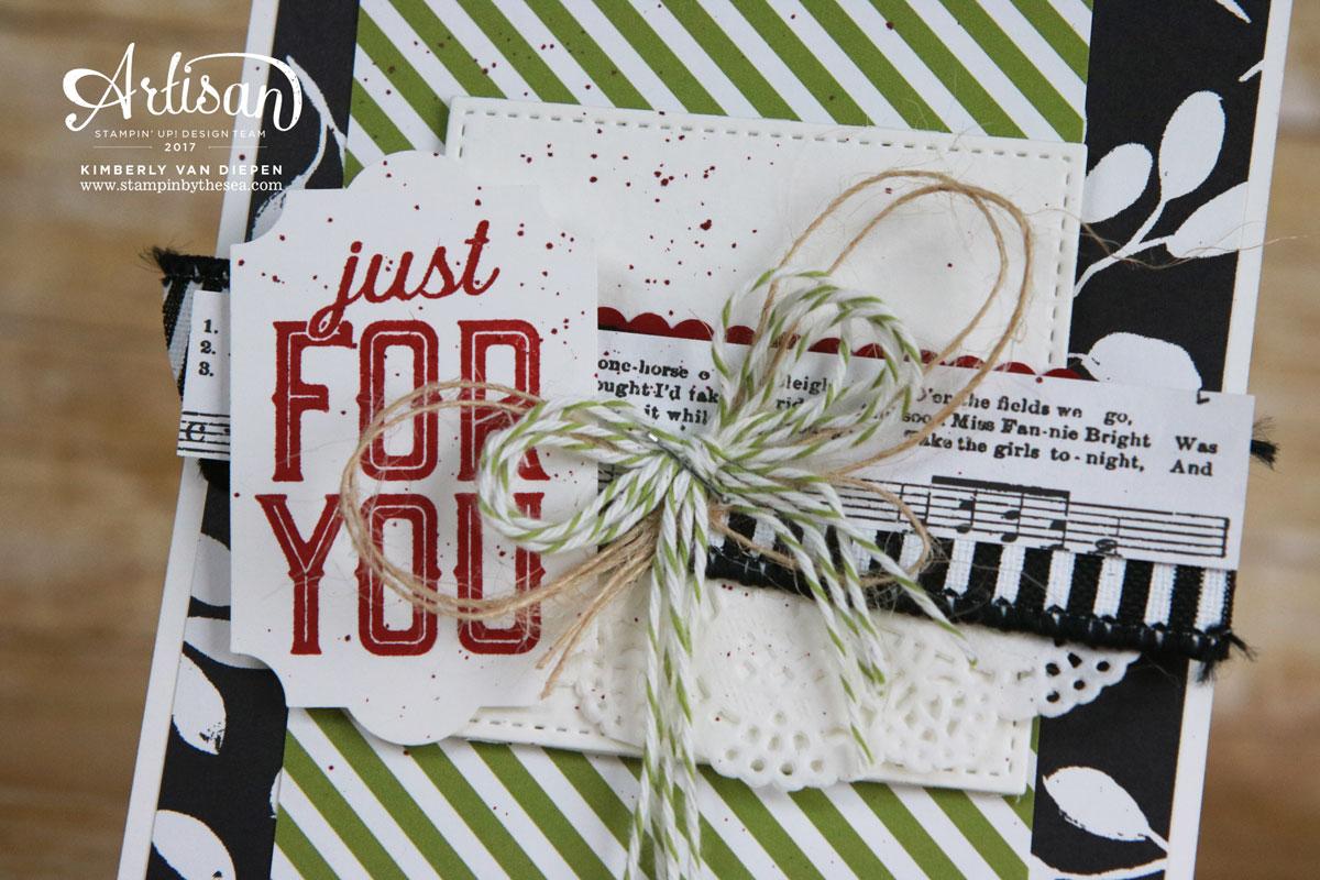 Merry Little Labels, Artisan Blog Hop, Stampin' Up!