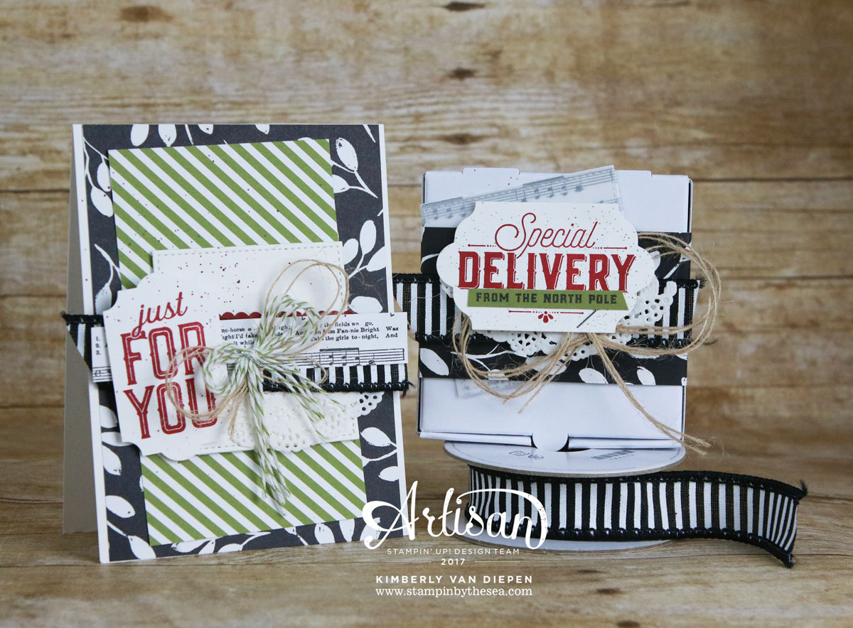 Merry Little Labels, Artisan Blog Hop, Stampin' Up!
