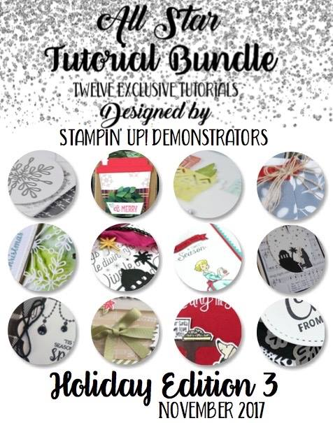 Tutorial Bundle Blog Hop, Stampin' Up!,