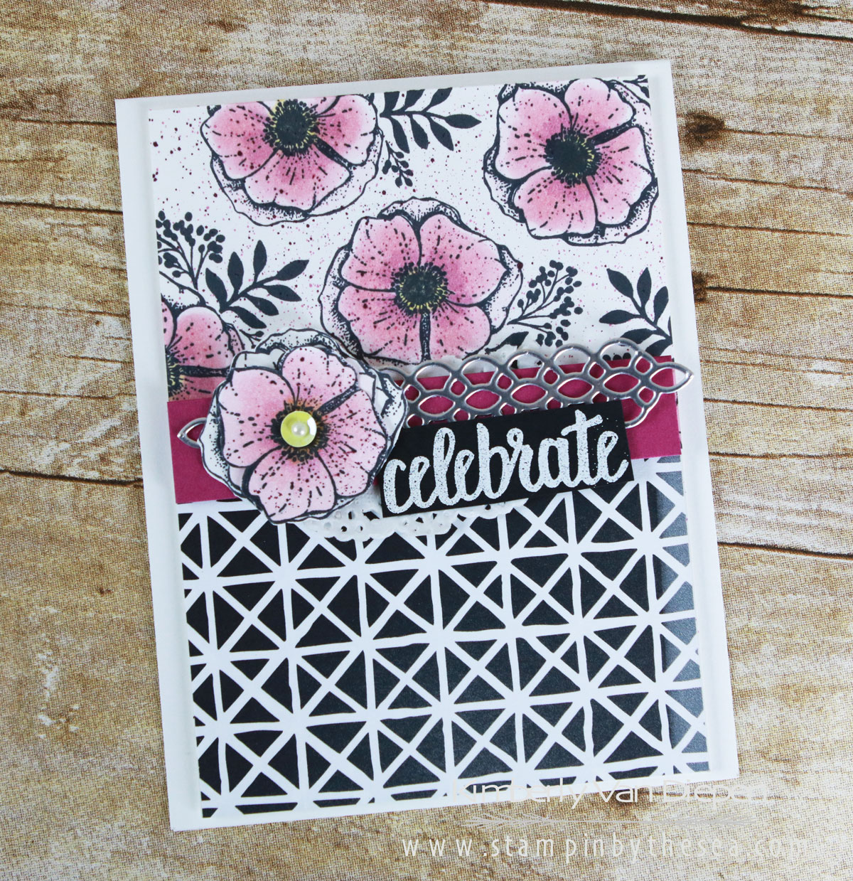 New February Tutorial, Stampin' Up!