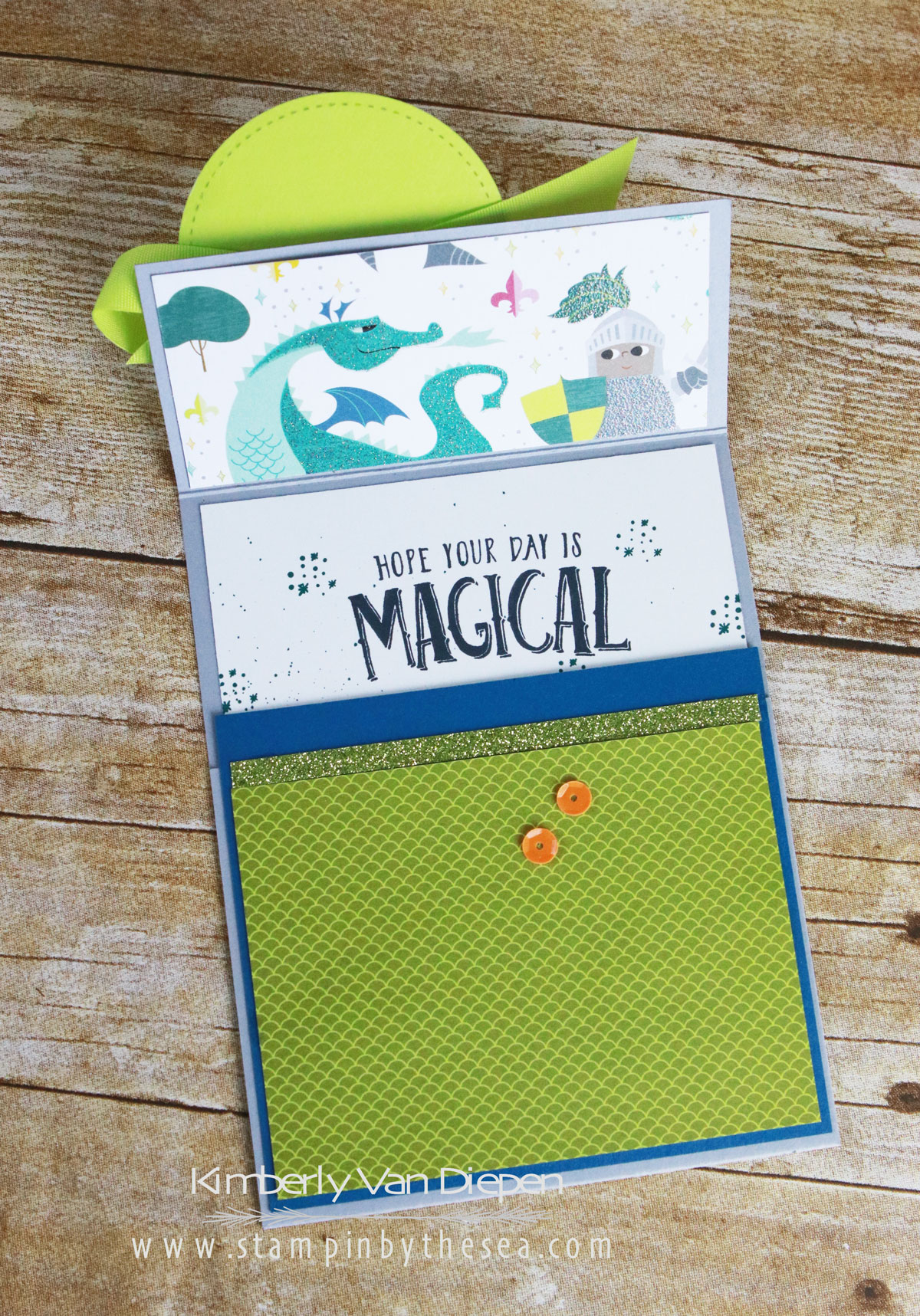 April Tutorial, Stampin' Up!