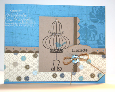 Independent Stampin' Up! Demonstrator Kimberly Van Diepen Virginia
