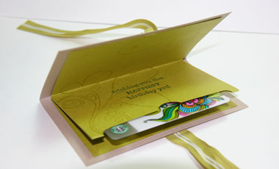Gift Card Holder 2