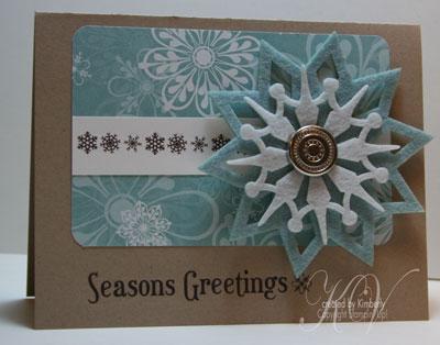 Felt Seasons Card