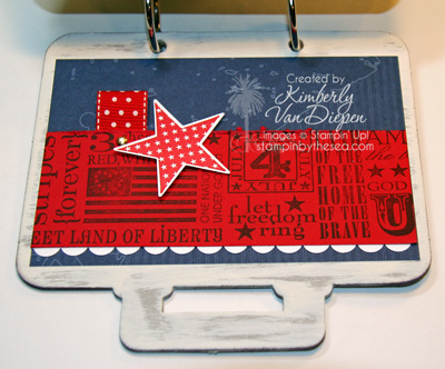 Independent Stampin' Up! Demonstrator Kimberly Van Diepen