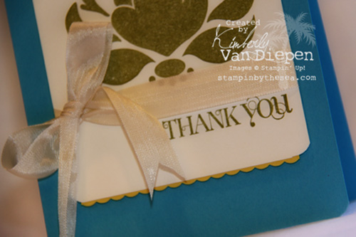 Independent Stampin' Up Demonstrator Kimberly Van Diepen Northern Virginia