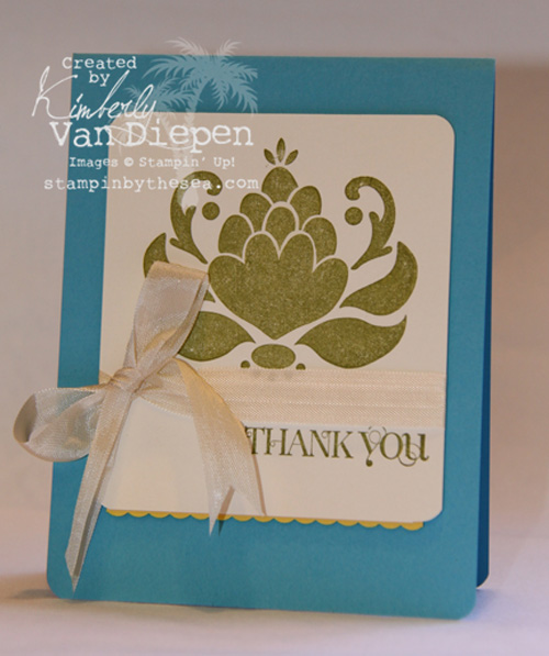 Independent Stampin' Up! Demonstrator Kimberly Van Diepen Northern Virginia